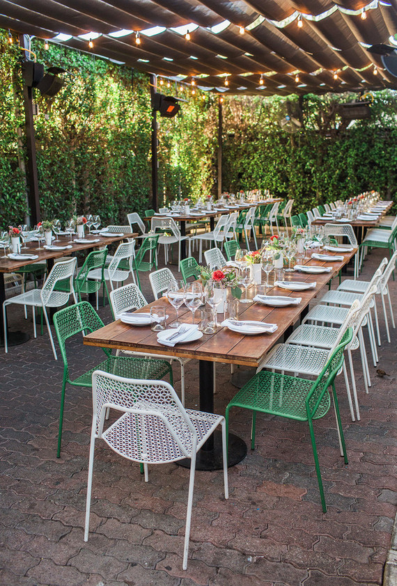 10 Amazing restaurants for a winter wedding in LA | Rose Cafe