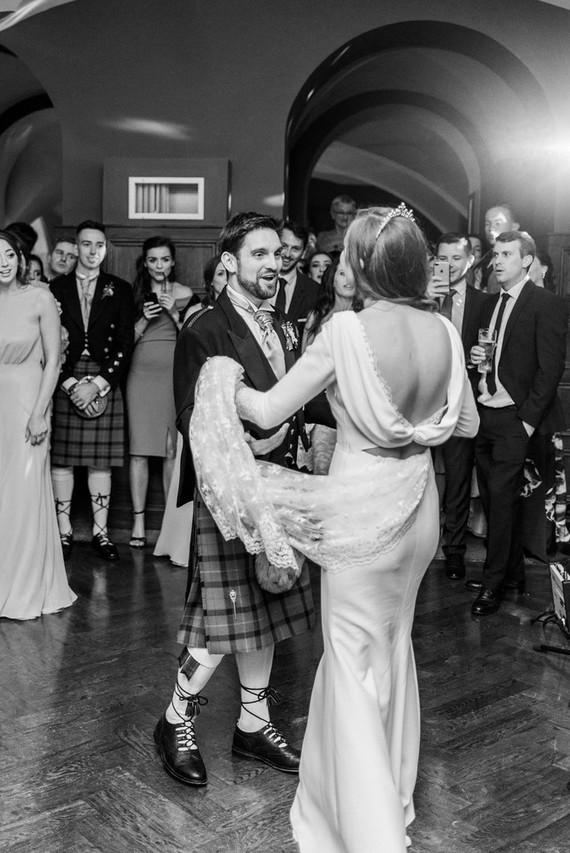 This Scottish wedding in an Irish Castle makes tartan look extra chic