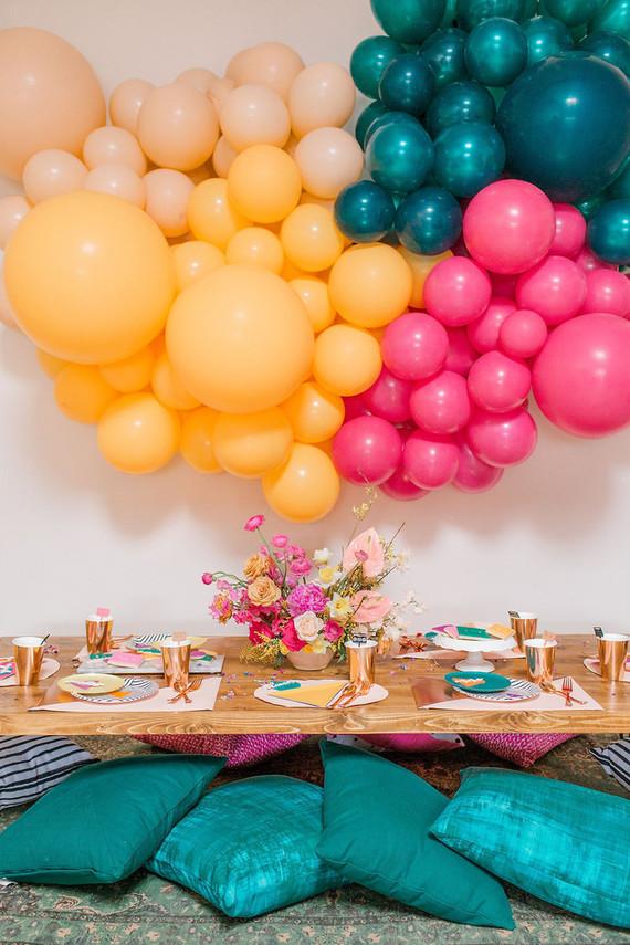 Totally rad 80's birthday party
