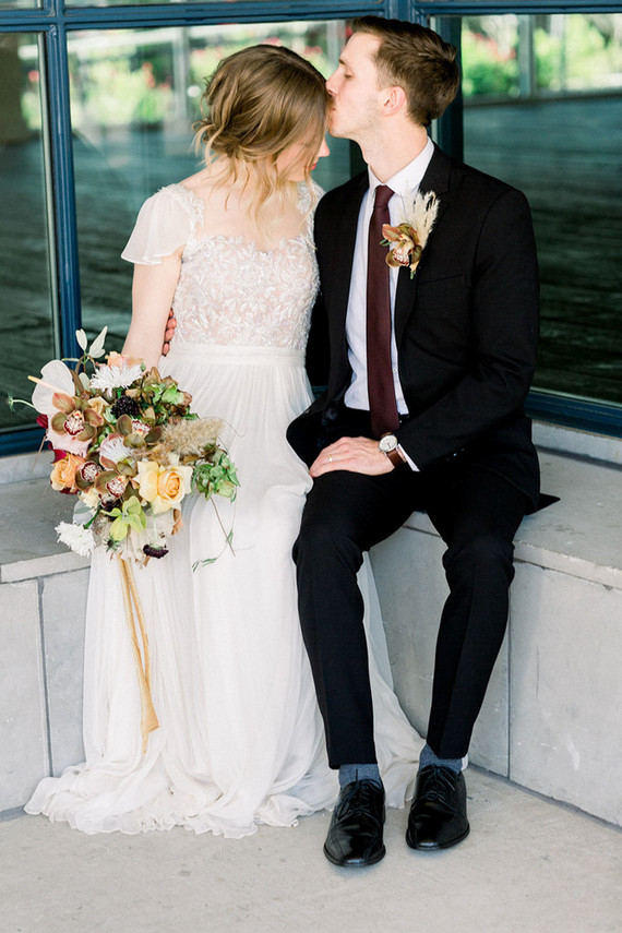 Boho-style urban wedding ideas in Austin, TX