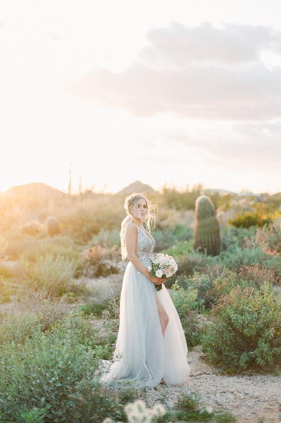Desert chich bridal fashion ideas in Arizona