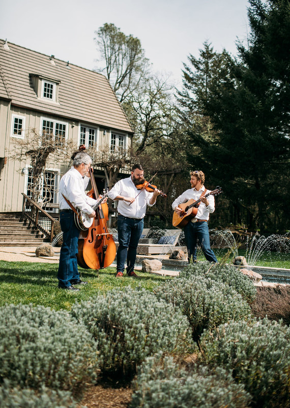 Blue grass wedding music