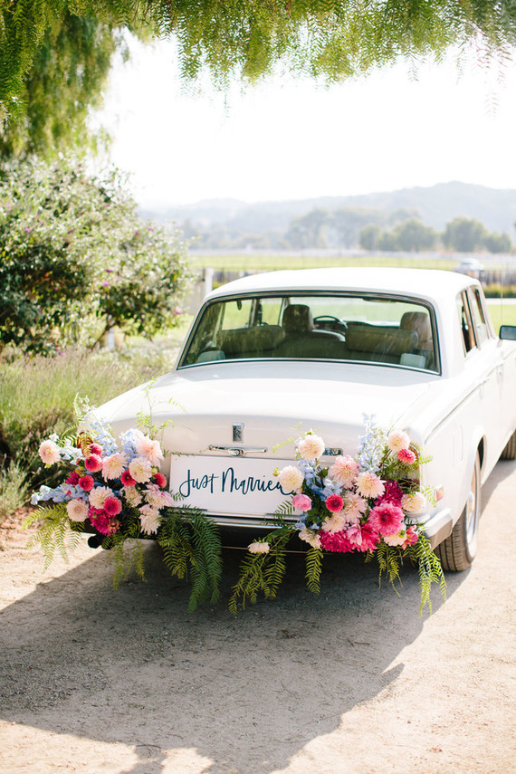 meticulously designed and detailed San Luis Obispo vineyard wedding at Greengate Ranch