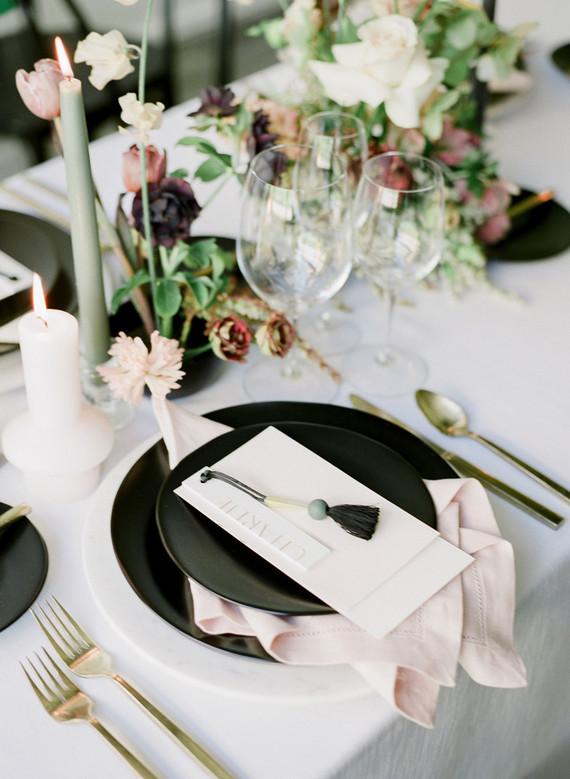 modern tropical wedding ideas at Portland's newest venue