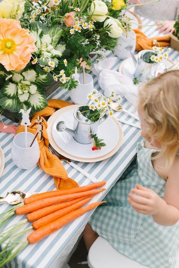Peter Rabbit themed Easter brunch for kids