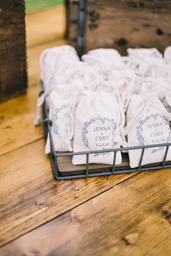 handmade brunch wedding favors