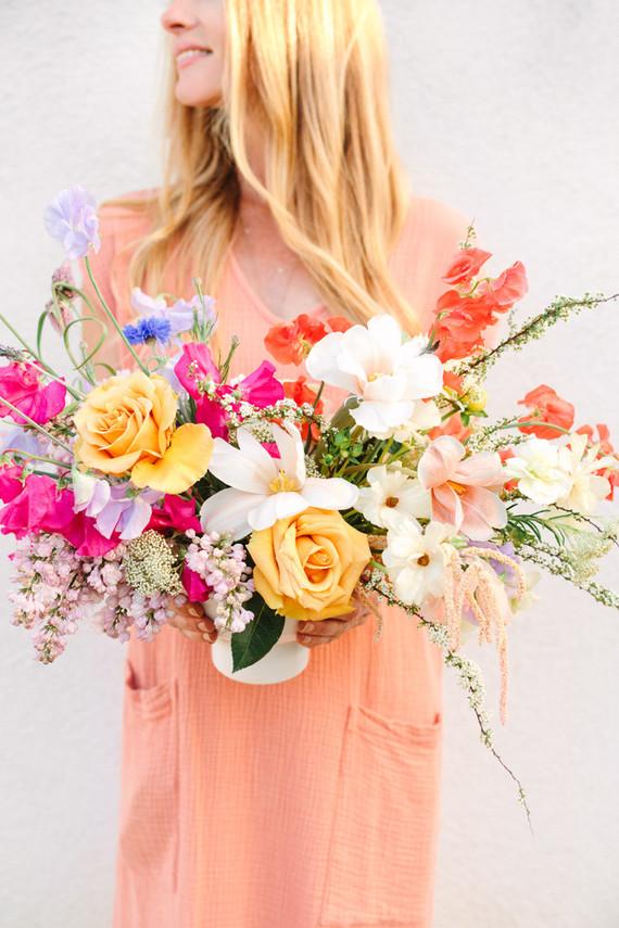 Bright spring florals