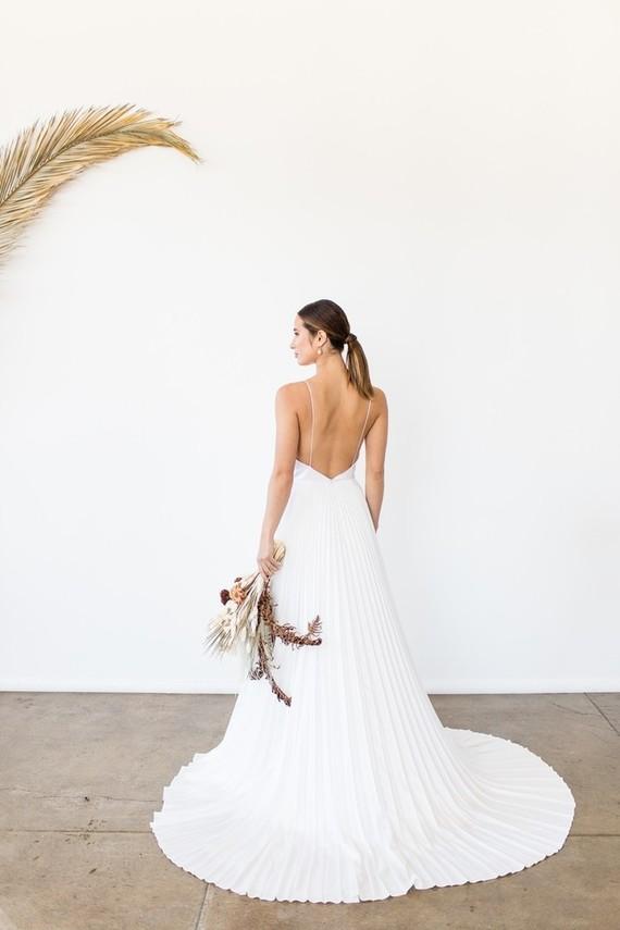 Natural tone modern Wabi Sabi wedding ideas