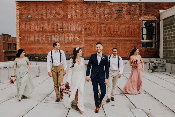 Industrial wedding ideas