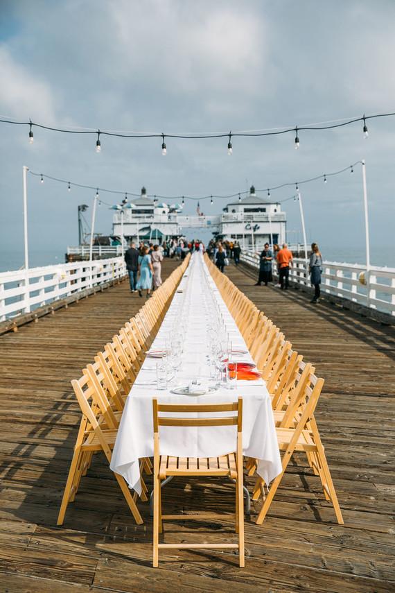 Malibu Pier dinner