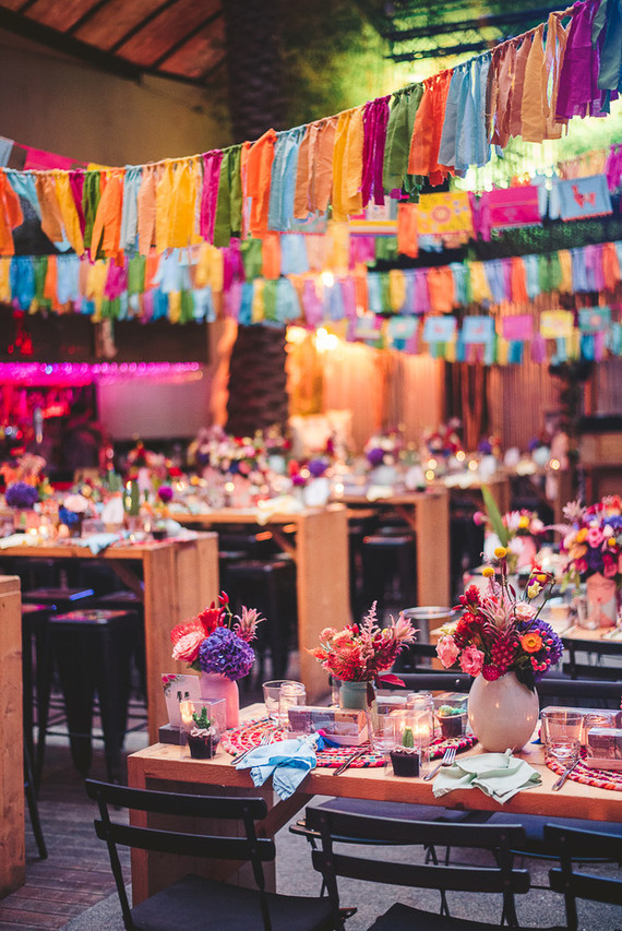 An over-the-top christening party inspired by Frida Kahlo