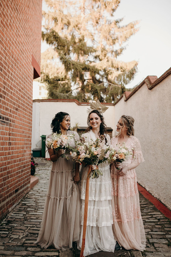 Needle & Thread bridesmaids