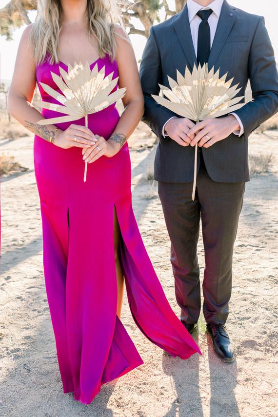 A chic, modern destination elopement at Joshua Tree National Park