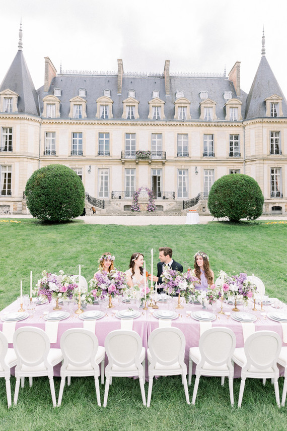 French lavender wedding inspiration