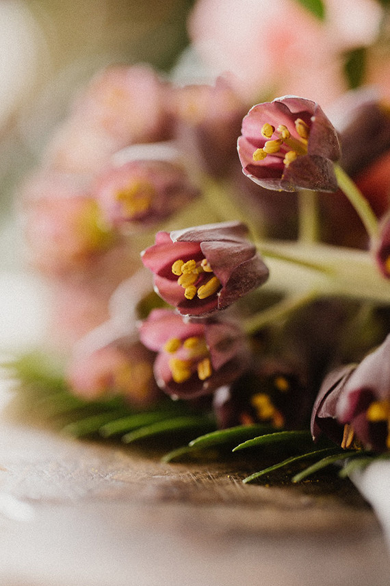 Elegant floral first birthday Korean Dol with peonies