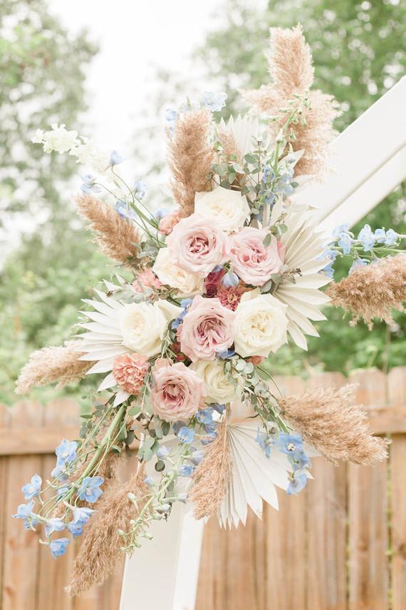 Floral hoop ideas