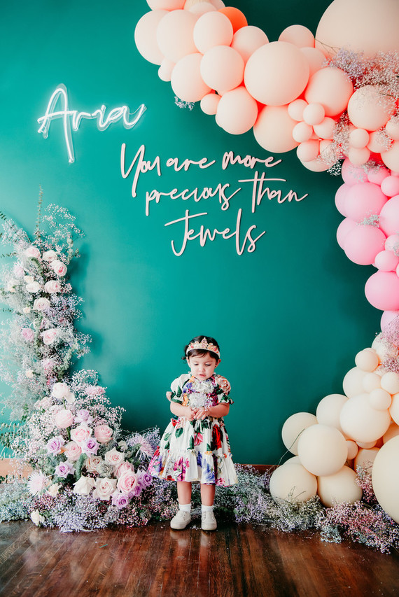 Jewel Inspired 2nd Birthday Party Filled With Balloons