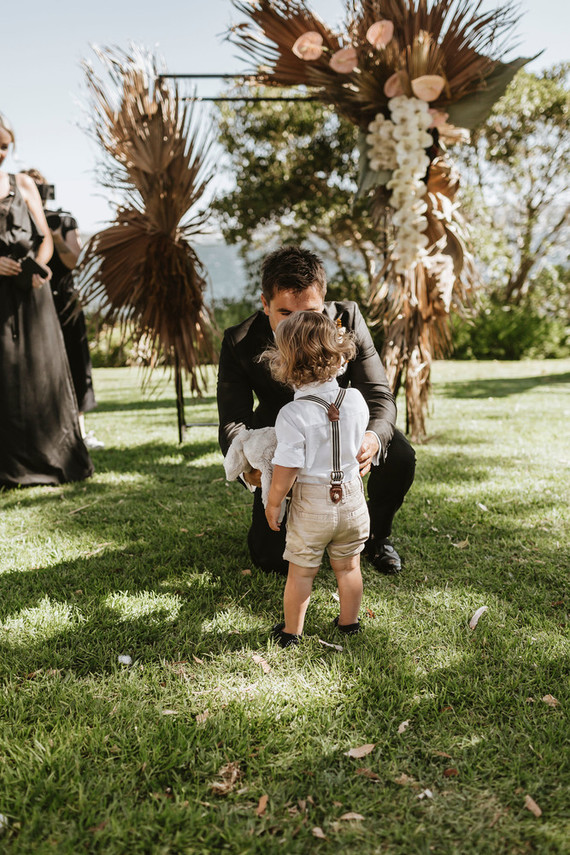 Son as ring bearer