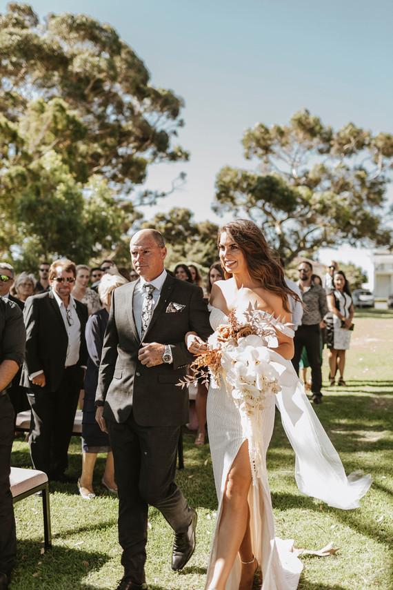 Modern Australia wedding