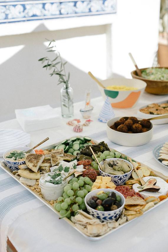 Mezze platter