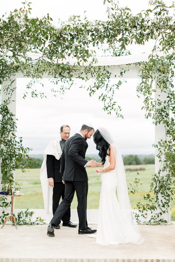 Romantic spring Prospect House wedding