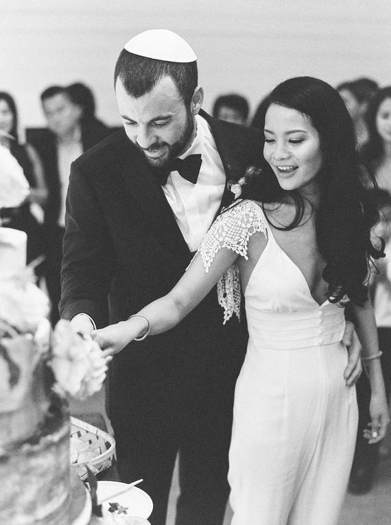 Jewish Prospect House wedding