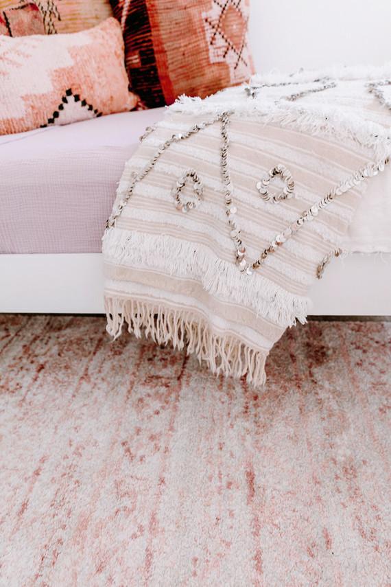 Desert inspired kids bedroom decor
