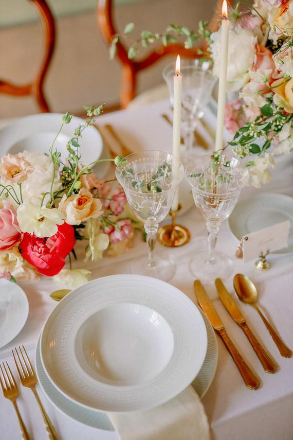 Elegant european wedding inspiration