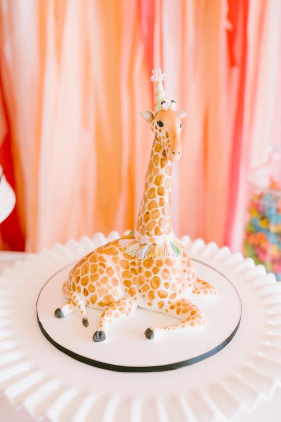 Circus themed smash cake