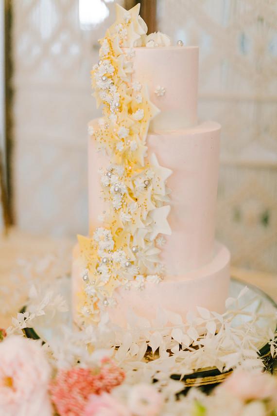 Star birthday cake