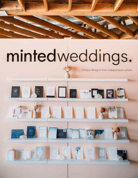 Minted wedding stationery