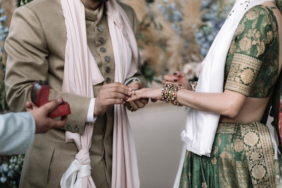 Modern Hindu wedding