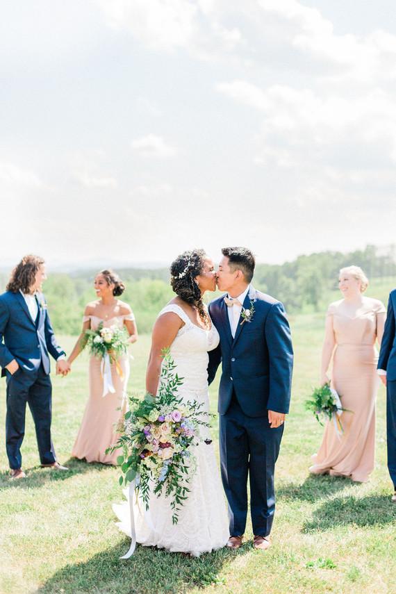 Romantic, rustic DC wedding