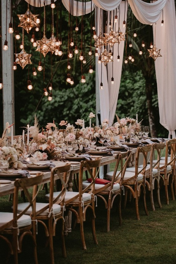 Boho tablescape ideas