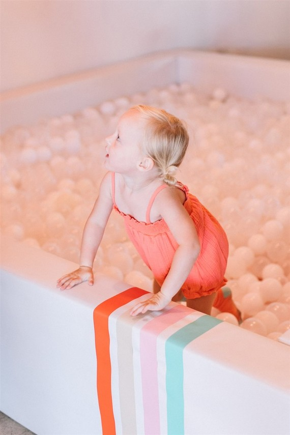 Modern kids ball pit