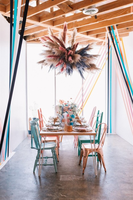 Colorful modern kids party