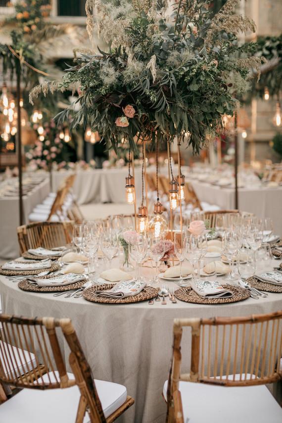 Elegant wedding in Spain