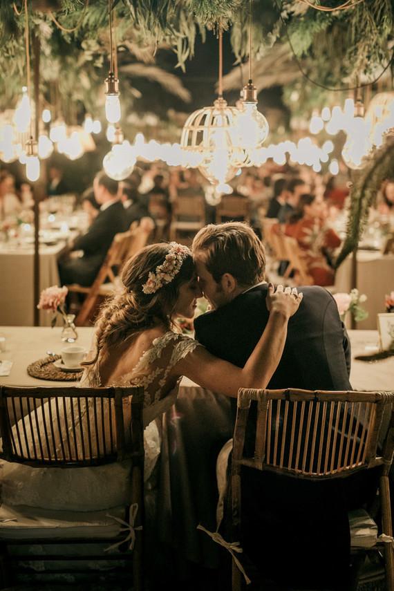 Spanish palace wedding reception