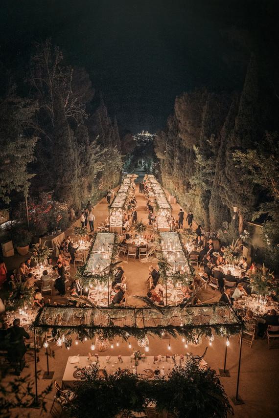 Elegant Spanish palace wedding on the coast