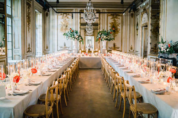 Elegant Parisian tablescape