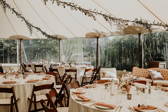 Romantic summer tablescape