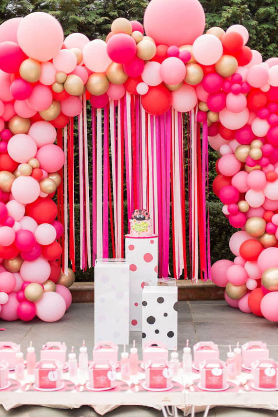 Terrific Dotties Ladybug Themed 1St Birthday Party In London 100 Layer Cake Birthday Cards Printable Giouspongecafe Filternl
