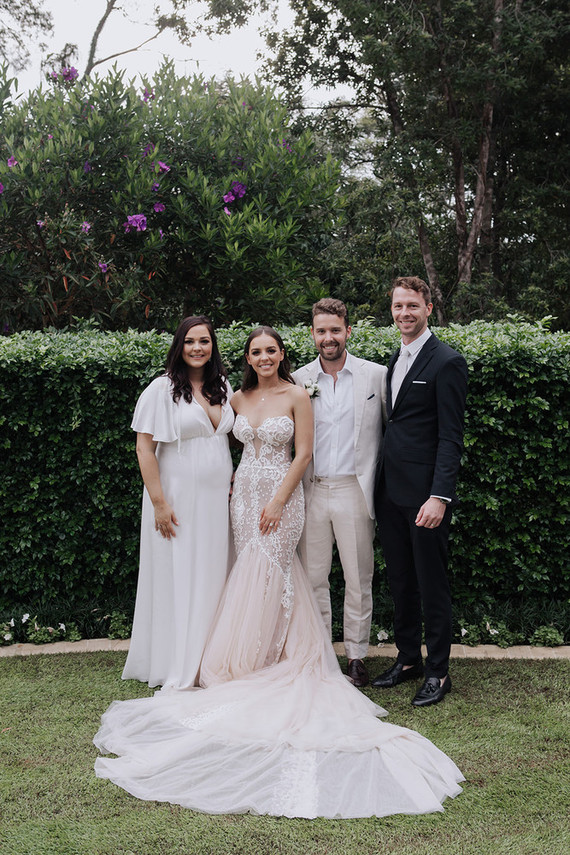 Stylish Australian wedding