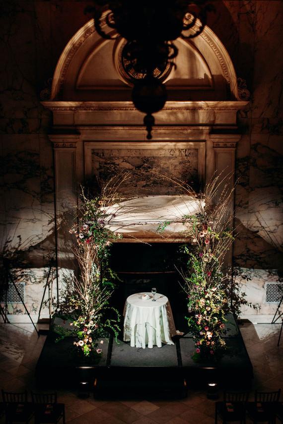 Elegant New York City winter wedding at The Metropolitan Club