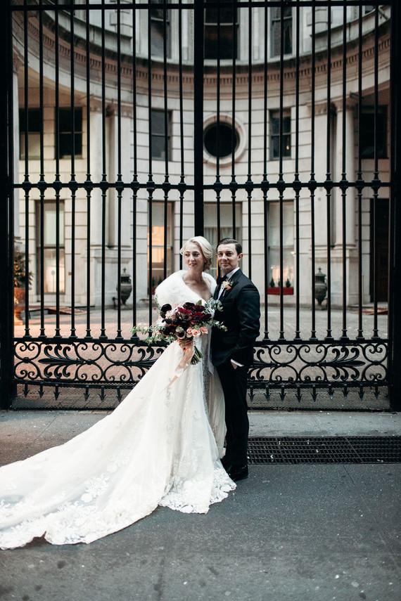 NYC winter wedding