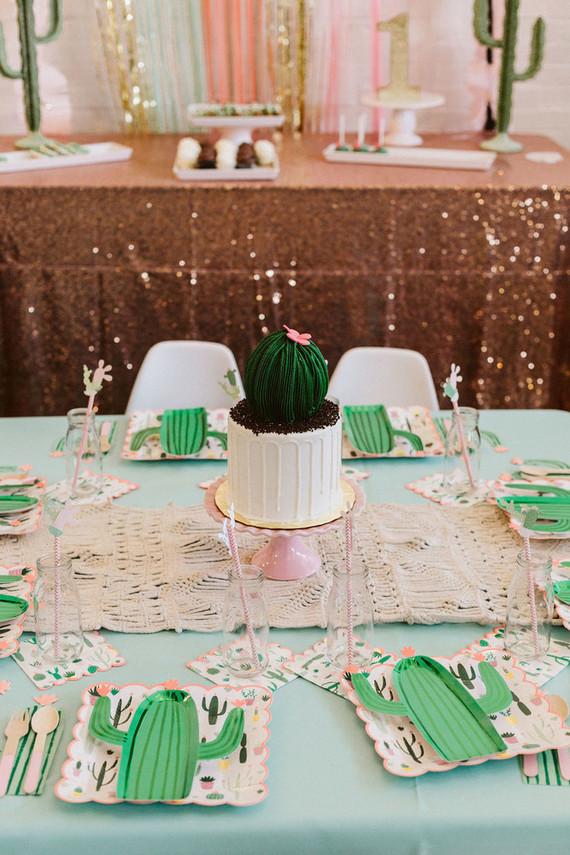 Cactus cake idea