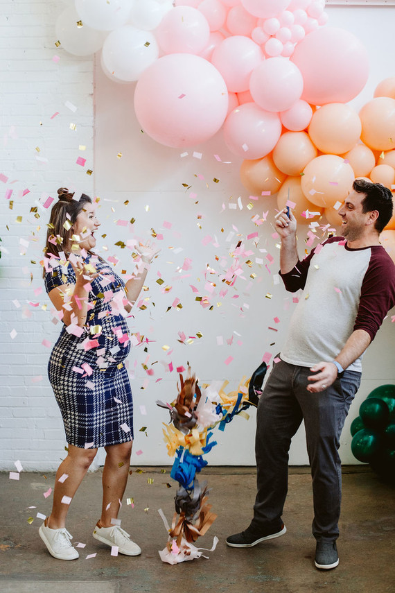 Balloon gender reveal