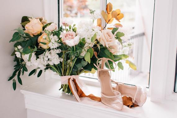 Fall bridal details