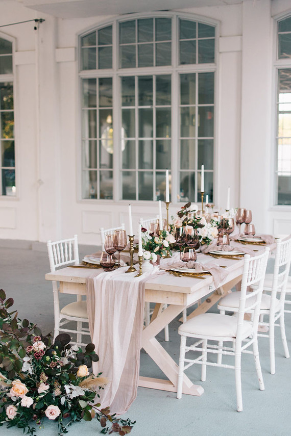 Soft fall tablescape