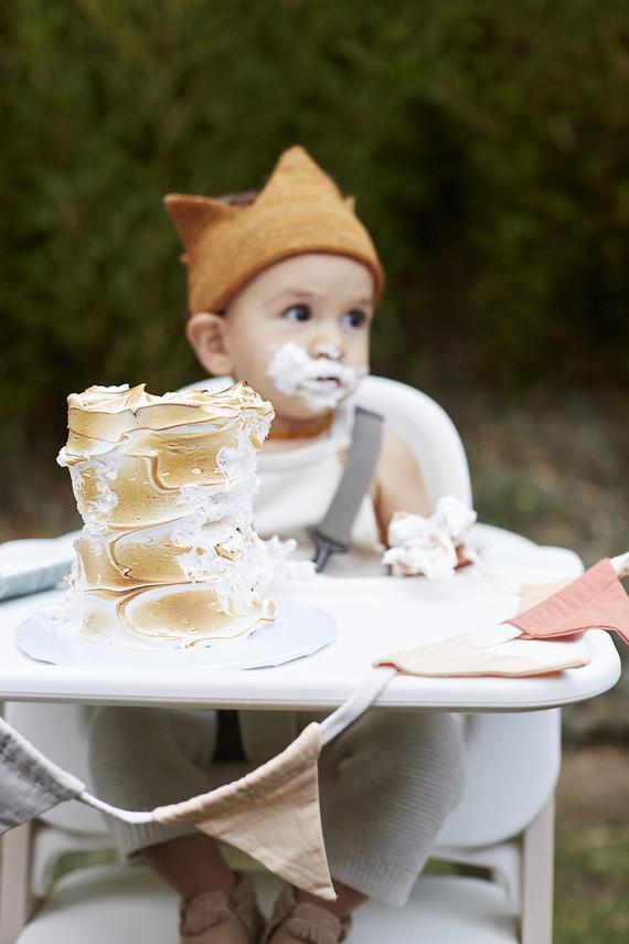 S'mores smash cake